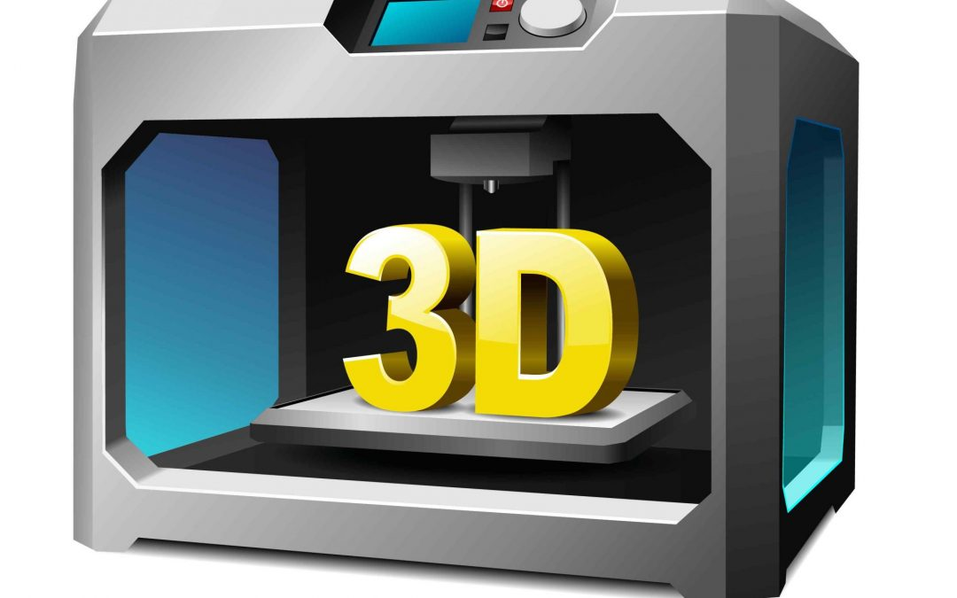 3D Printer printed out a Physical interpretation of 3D