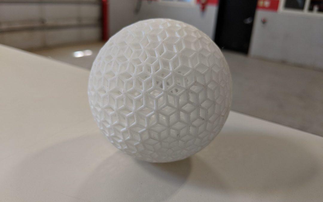 JawsTec SLS 3D Ball