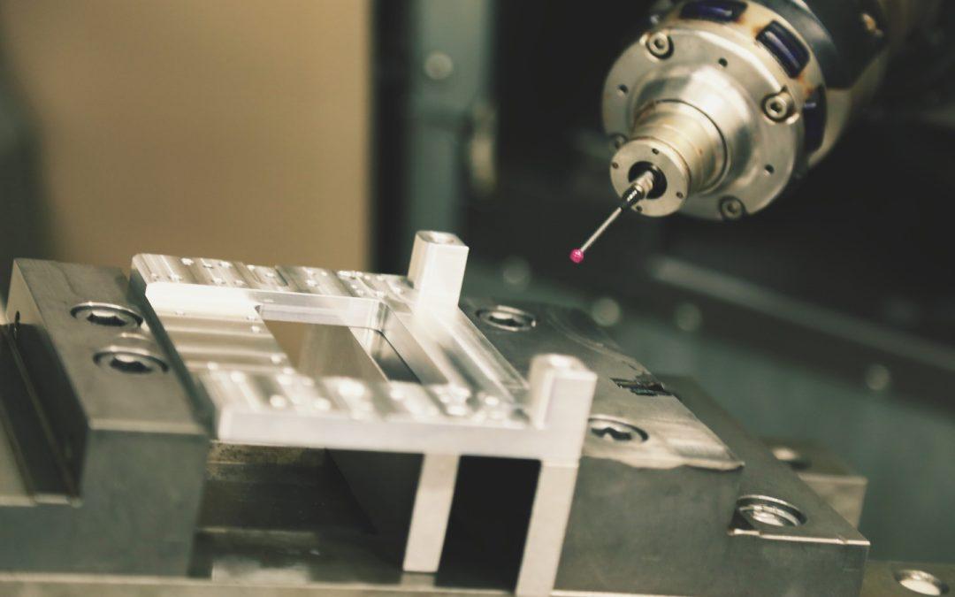 Closeup milling machine