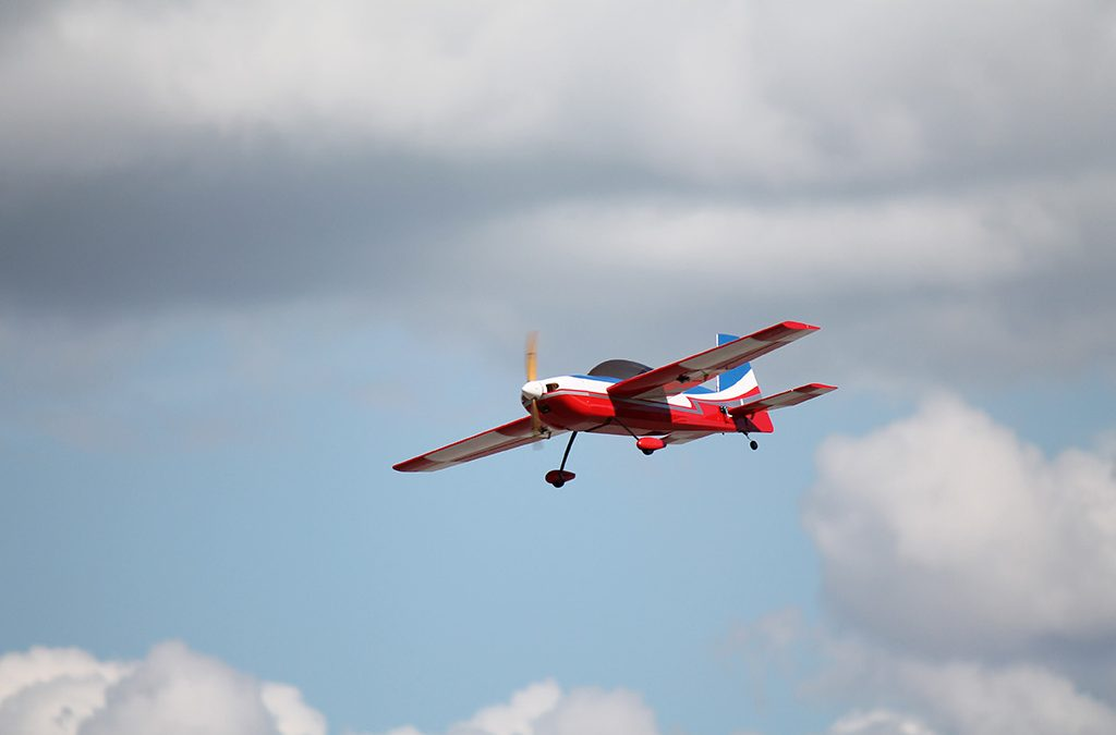 A client's RC Plane flying with new CNC RC Plane parts