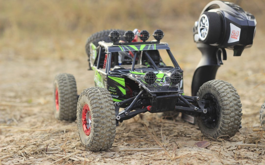 Custom RC Car with 3D Printed RC Tires