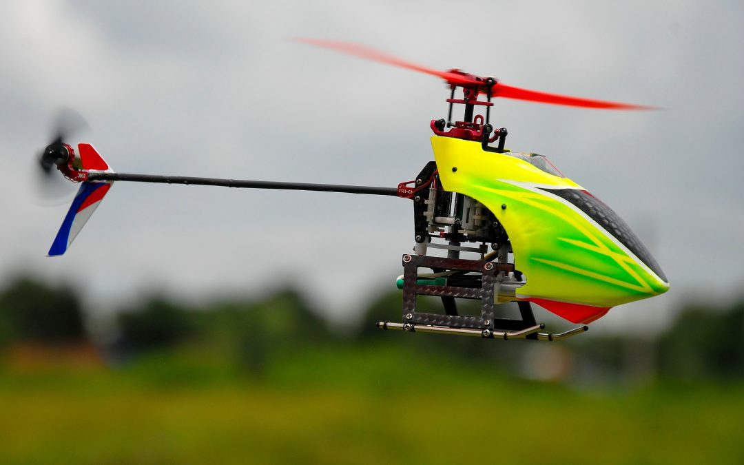 Customize Your Craft CNC and 3D-Printed RC Helicopter Parts